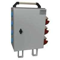 Щит механизации ЩМ-РУСП-63-3х1П-2х3П-IP54 (ВВ-63А, 3 роз. 1Р+N+PE 16A, 2 роз. 3Р+N+PE 16A) SM-63-3-2 Texenergo