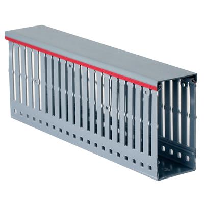 Короб перфорированный RL12 80x80 серый QUADRO (00152RL) 00152RL DKC