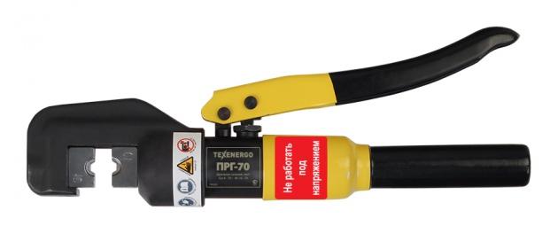 Пресс ручной гидравлический ПРГ-70 Cu 4-70 кв. мм, Al 16- 70 кв.мм TPRG070 Texenergo
