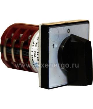Переключатель кулачковый 4G10-201-U-S1 открытое исп. Apator  Apator
