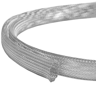 Полиэстровая эластичная кабельная оплётка CC-012 (12,0мм.) серая (по 300м) EKO-CC-012 Texenergo