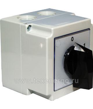 Переключатель кулачковый 4G25-10-PK Apator PG2-025-10 Apator