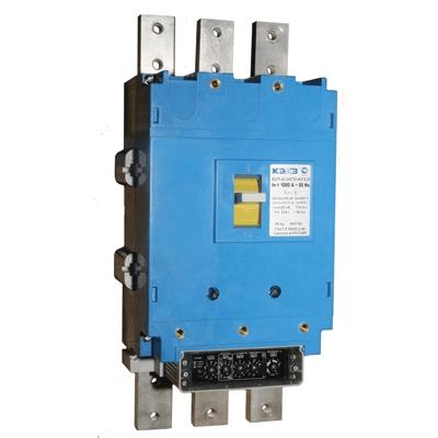 Автоматический выключатель ВА 5541-344710 1000А ручной привод КЭАЗ 108178 КЭАЗ