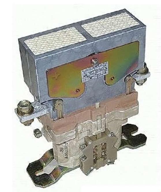 Контактор электромагнитный МК 5-20 220В ЦУП ЧЭАЗ 101600400.01 ЧЭАЗ