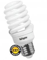 Лампа энергосберегающая КЛЛ 15/840 Е27 D42х103 спираль 18169 Navigator