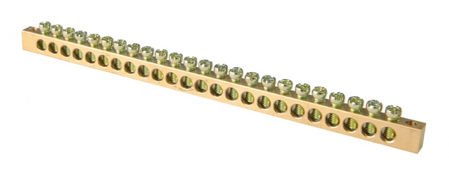 Шина нулевая 24/2 6х9 мм NN2-69-24 Texenergo