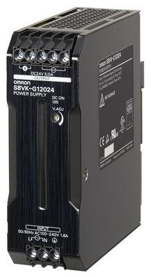 S8VK-G01524 Импульсный источник питания серии S8VK, мощность 15 Вт, входное напряжение 240 ~B, 350 =B, выходное напряжение 24 В, входной ток 0,58 А, выходной ток 0,65 A, частота 50/60 Гц (47..450 Гц), защита от перегрузки, защита от повышенного напряжения 374166 Omron