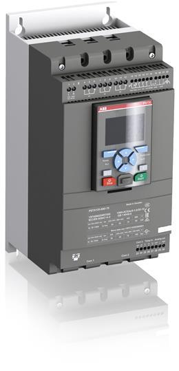 Софтстартер PSTX105-690-70 90кВт 690В 106A (160кВт 690В 181A внутри треугольника) с функцией защиты двигателя 1SFA898209R7000 ABB