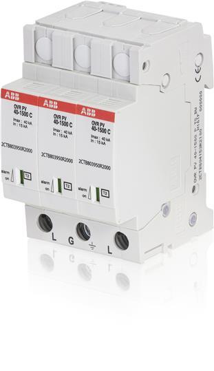 Ограничитель перенапряжения OVR T2 3L 40-440 P TS 2CTB803853R2700 ABB