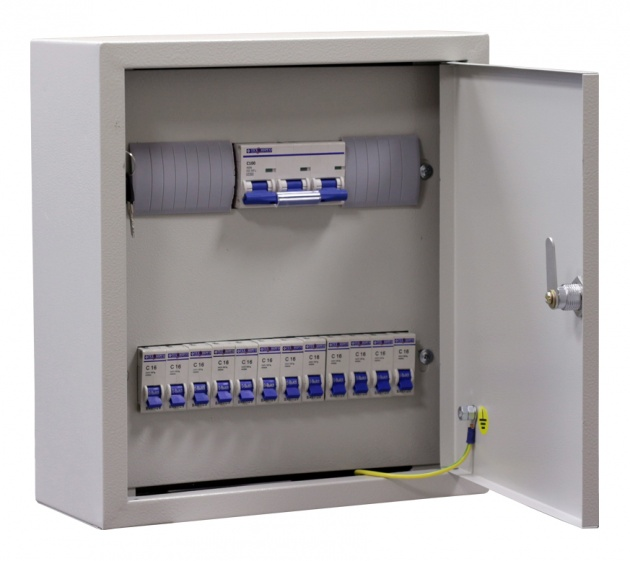 Щит освещения ОЩВ-12 (100А+12x25A) IP31 OHV12-100-250031 Texenergo