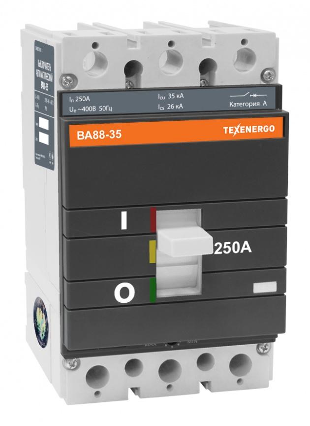 Автоматический выключатель ВА 8835 250А SAV8835-0250 Texenergo