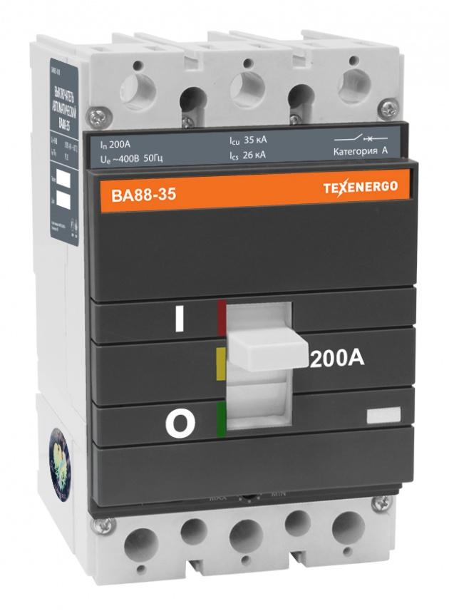 Автоматический выключатель ВА 8835 200А SAV8835-0200 Texenergo