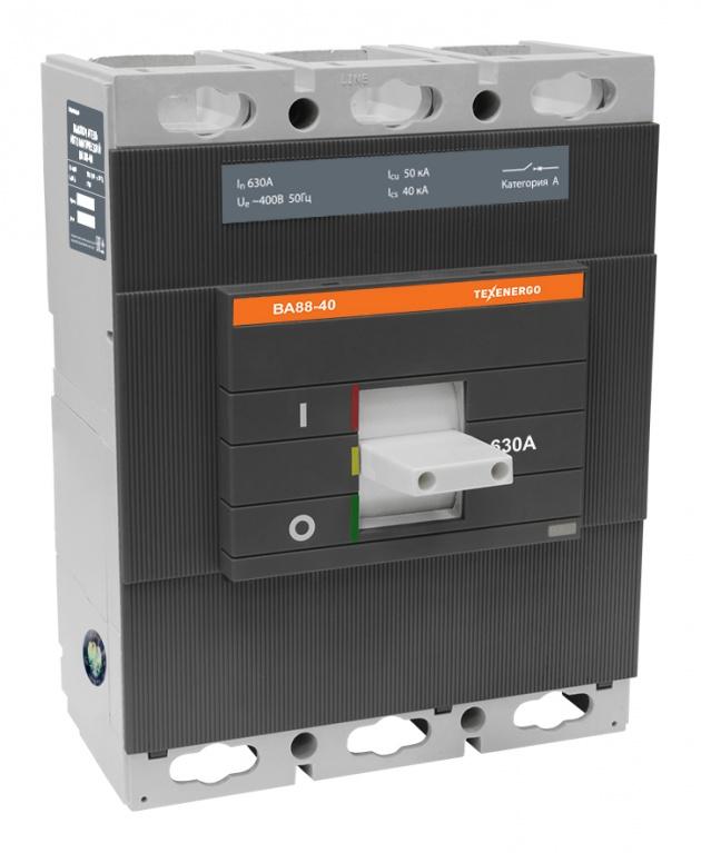 Автоматический выключатель ВА 8840 630А SAV8840-0630 Texenergo