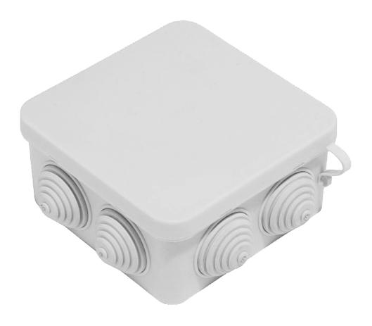 Коробка расп. о/у 7 вводов 80х80х40 IP55 40-0210 Промрукав