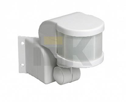 Датчик движения ИК угловой 1100w 270 гр. 12м IP44 белый (ДД 018В бел.) LDD10-018B-1100-001 IEK