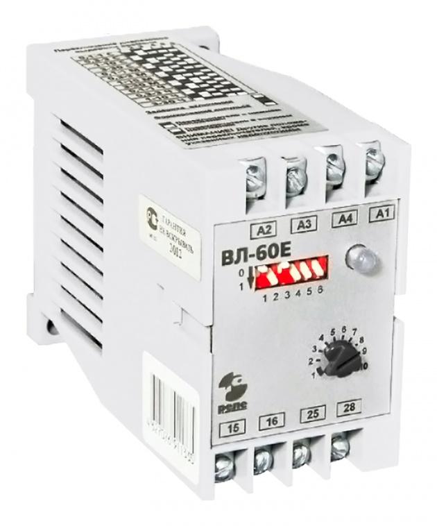 Реле времени ВЛ60 Е 1з+1п, 0-15мин, 5А, 220В50Гц  Реле и автоматика