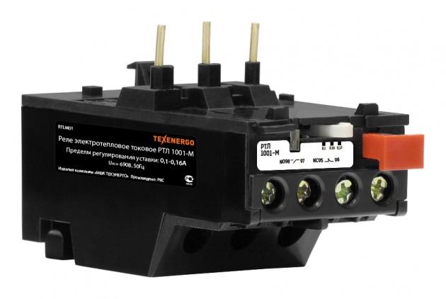 Реле тепловое РТЛ 1001-М (0,1-0,16А) RTLM01 Texenergo