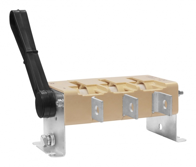 Выключатель-разъединитель Interpact INV250 3п с красной рукояткой 31186 Schneider Electric