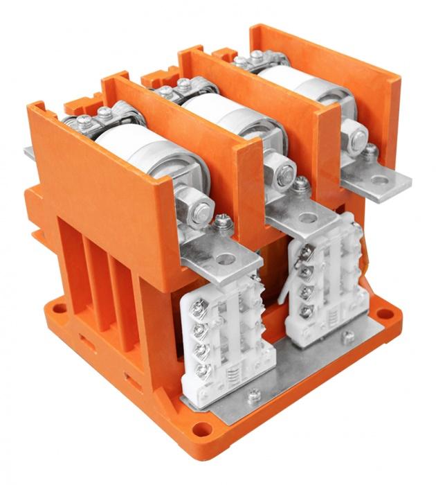 Контактор вакуумный КВТ 1,14-2,5/250, 380В, In=5 /0,5A, 3-х полюсный KVT-250-380-3 Texenergo
