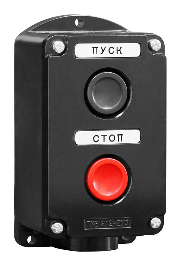 Пост кнопочный ПКЕ 212-2 PKE2122-P Texenergo