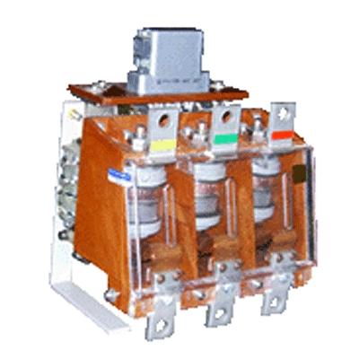 Контактор вакуумный КВТ 1,14-2,5/250, 380В 50Гц, In=5 /0,5A, 3-х полюсный  Россия