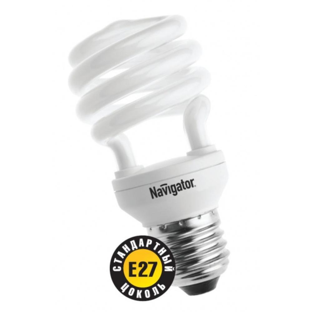 Лампа энергосберегающая КЛЛ 30/840 Е27 D65x155 спираль 94057 NCL-SF10 Navigator