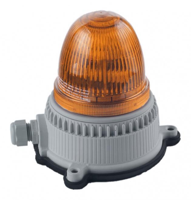 Маяк мигающего свечения оранжевый 24/240В (30112) OVOPG9LMT24240A2 Sirena