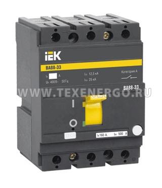 Автоматический выключатель ВА 8833 3п 16А SVA20-3-0016 IEK