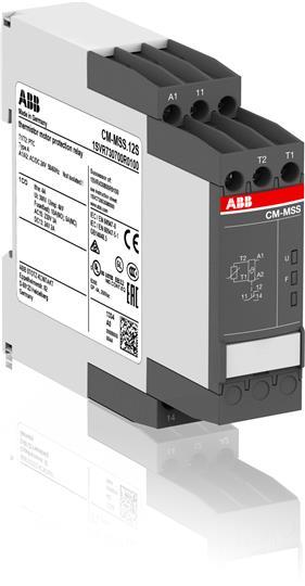 Термисторное реле защиты двигателя CM-MSS.12S питание 24В AC/DC, 1ПК, винтовые клеммы 1SVR730700R0100 ABB