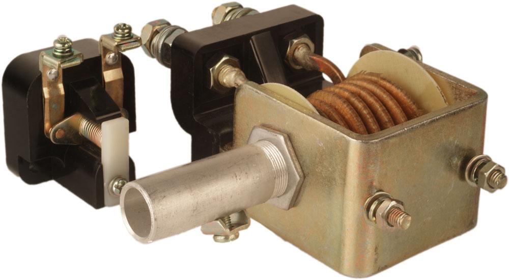 Реле максимального тока РЭО 401 2ТД 40А с блок-контактом  Реле и автоматика