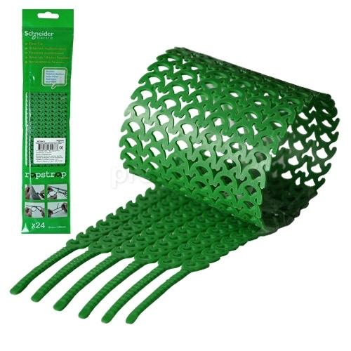 Стяжка зелёная Rapstrap (упаковка 24шт) IMT38072 Schneider Electric