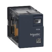 Реле промежуточное RXM, 4 С/О, 230 В АС, LED, 5A RXM4LB2P7 Schneider Electric