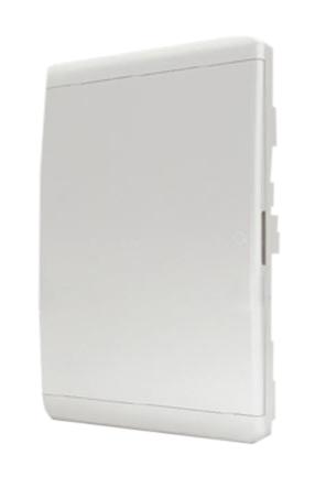 Корпус ЩРВ-П-54 мод (BVN 40-54-1) непрозр.бел дверь IP40 BVN 40-54-1 Tekfor