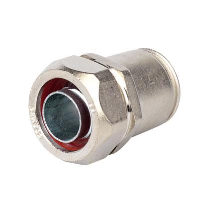 DKC Муфта металлорукав DN 15-жесткая труба д.20мм, IP66/IP67, никелированная латунь 6117-20N DKC