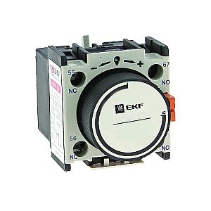 Приставка выдержки времени ПВЭ-21 0.1-3сек при отключении ctr-st-21 EKF