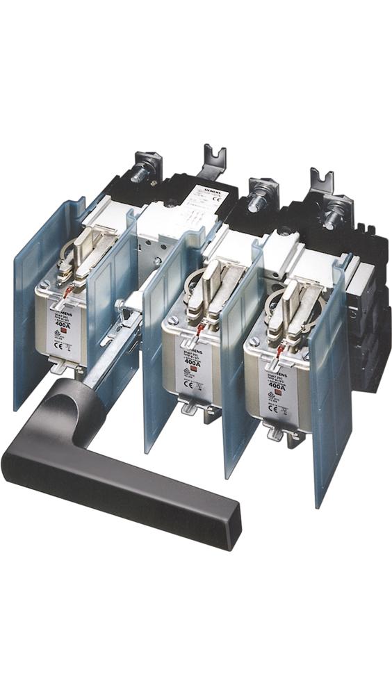 Разъединитель-предохранитель 630A 690V 3П для LV HRC FUSE типоразмер 3 (3KL6130-1GB00) 3KL6130-1GB00 Siemens