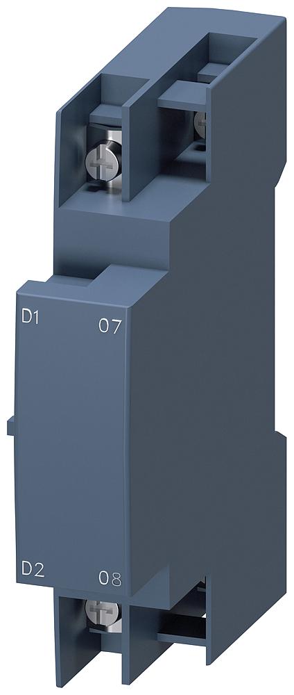 Расцепитель минимального напряжения AC 415В 50Гц AC 480V 60Гц 2НО пружинные зажимы для выключателей 3RV2 типоразмер S00/S0 (3RV2922-2CV1) 3RV2922-2CV1 Siemens