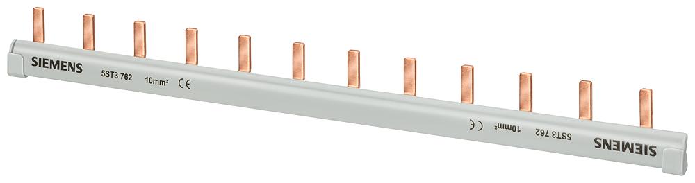 Шина штифтового типа 1PH 10мм.кв 12PINS GR (5ST3762) 5ST3762 Siemens