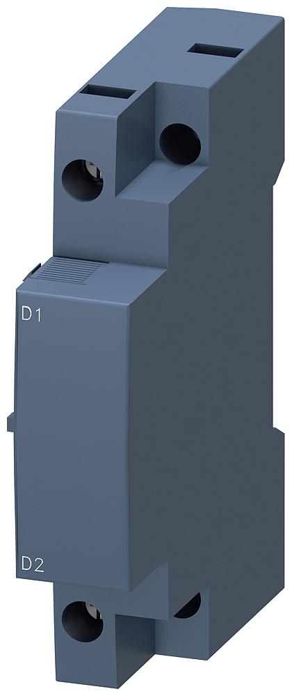 Расцепитель минимального напряжения AC 500В/50Гц AC 575V/60Гц винтовые зажимы для выключателей 3RV2 типоразмер S00/S0 (3RV2902-1AS0) 3RV2902-1AS0 Siemens