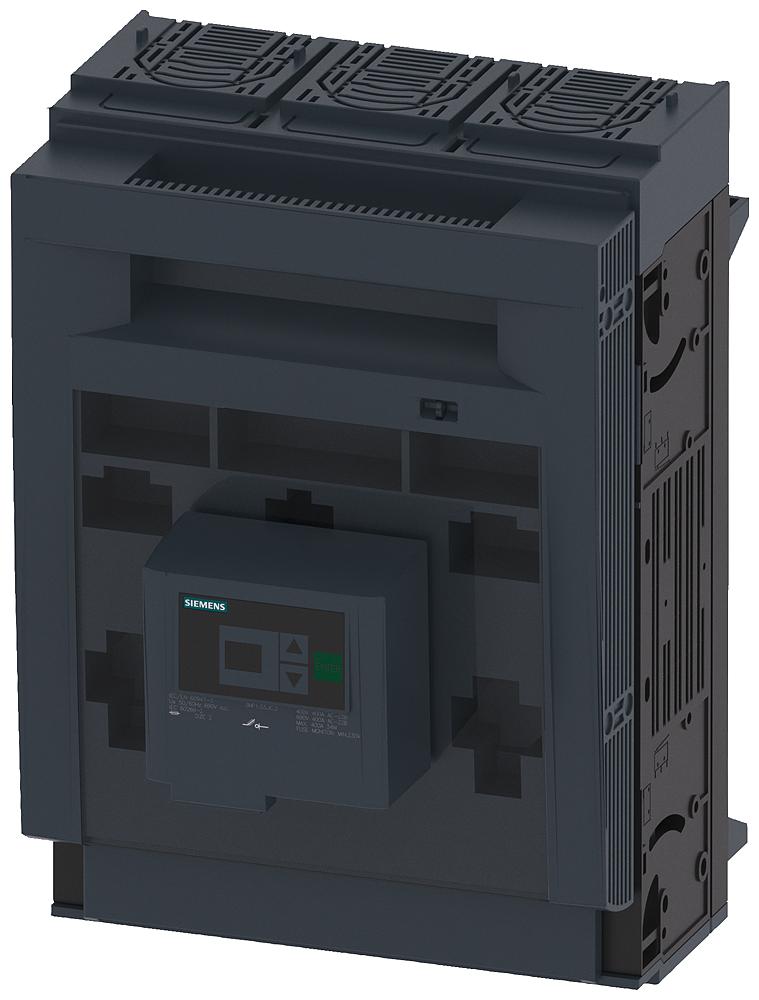 Разъединитель 3п NH2 400A 60мм шинная система COVERS для RITTAL рамочный зажим (3NP1153-1JC23) 3NP1153-1JC23 Siemens
