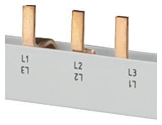 Шина штифтового типа безопасная для прикосновения 10мм.кв 4х(3ф+AS/FC) 5ST3617 Siemens