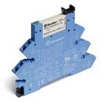 Интерфейсные модули реле Электромеханические реле, Подавление утечки тока, Безвинтовые зажимные клеммы, Контакты AgNi+Au, 1 группа конт.6A, 110-125V AC/DC (386131255060) 386131255060 Finder