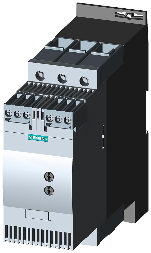 УСТРОЙСТВО ПЛАНОВОГО ПУСКА SIRIUS, ТИПОРАЗМЕР S2, 72A, 37KW/400V, 40 ГРАД., 200-480V AC, 24V AC/DC, ВИНТОВЫЕ ЗАЖИМЫ (3RW3038-1BB04) 3RW3038-1BB04 Siemens