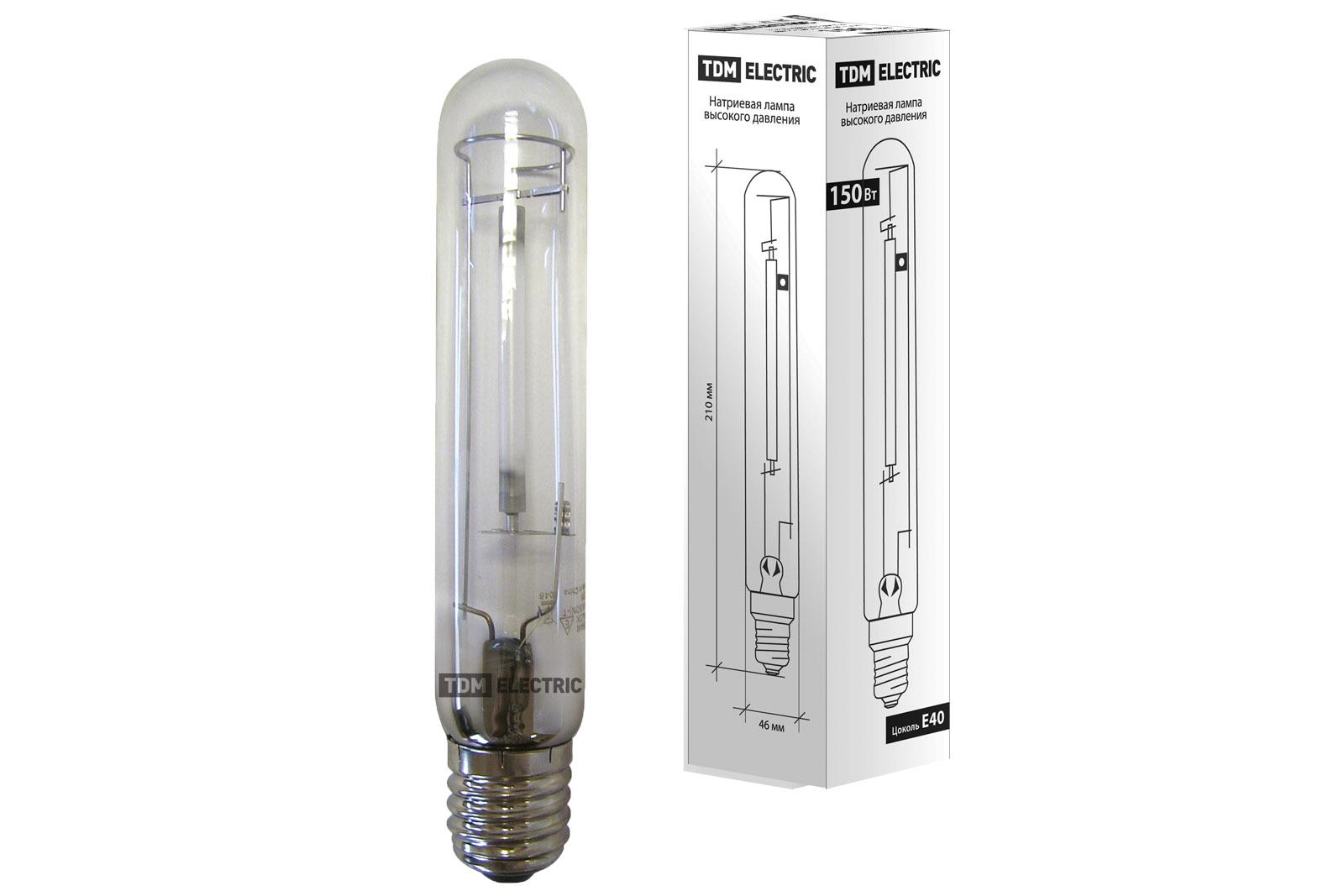 Лампа натриевая высокого давления ДНаТ 150 Вт Е40 TDM SQ0325-0003 TDM Electric