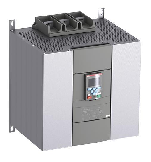 Софтстартер PSTX840-600-70 450кВт 400В 840A (800кВт 400В 1455A внутри треугольника) с функцией защиты двигателя 1SFA898119R7000 ABB