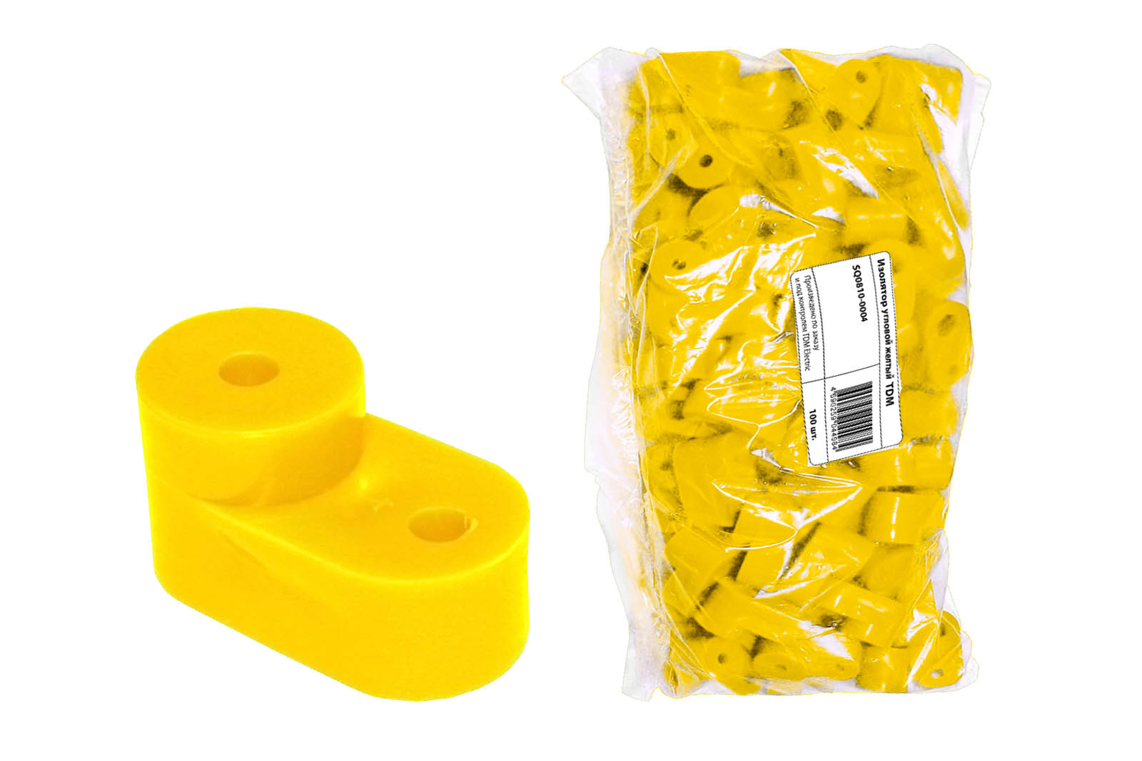 Изолятор угловой желтый TDM SQ0810-0004 TDM Electric