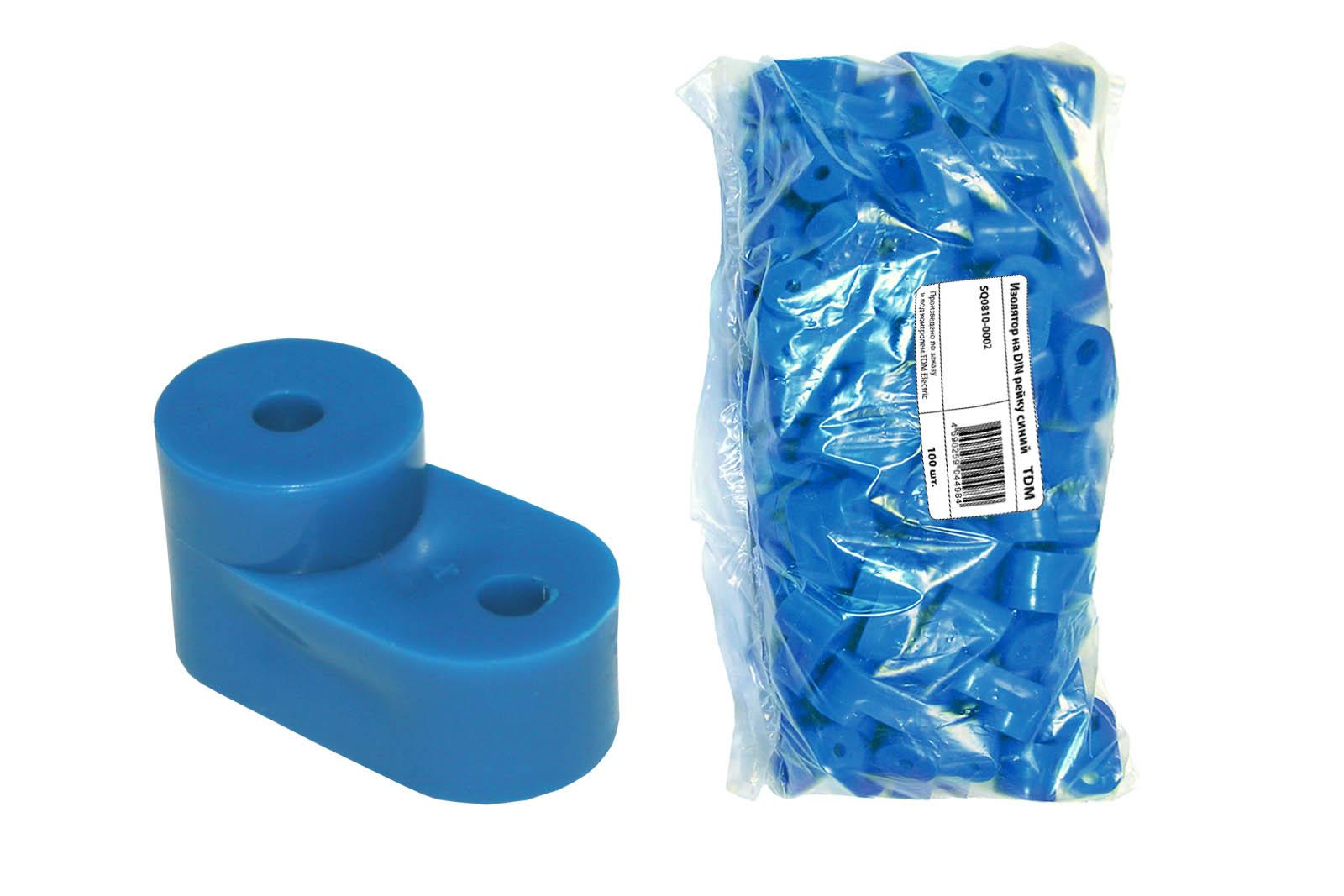Изолятор угловой синий TDM SQ0810-0005 TDM Electric