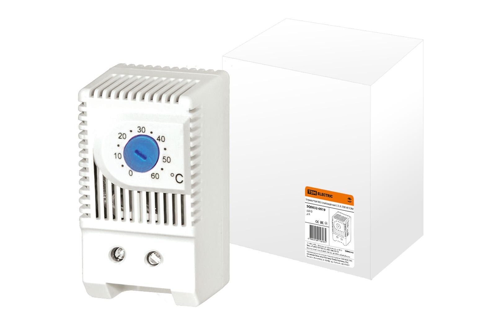 Термостат NO (охлаждение) 2А 230В TDM SQ0832-0019 TDM Electric