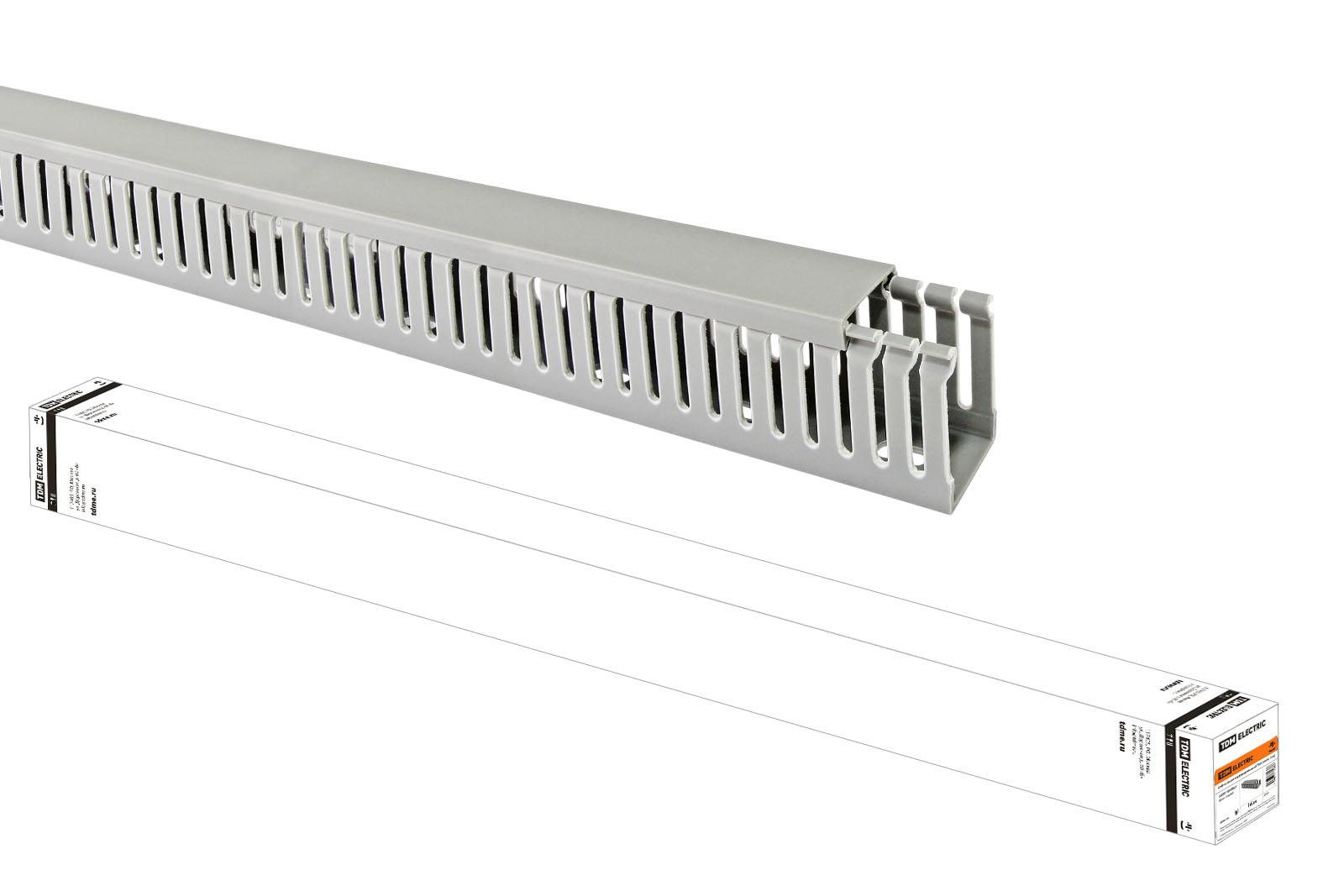 Кабель-канал перфорированный 25х40 TDM (60 м) SQ0410-0002 TDM Electric