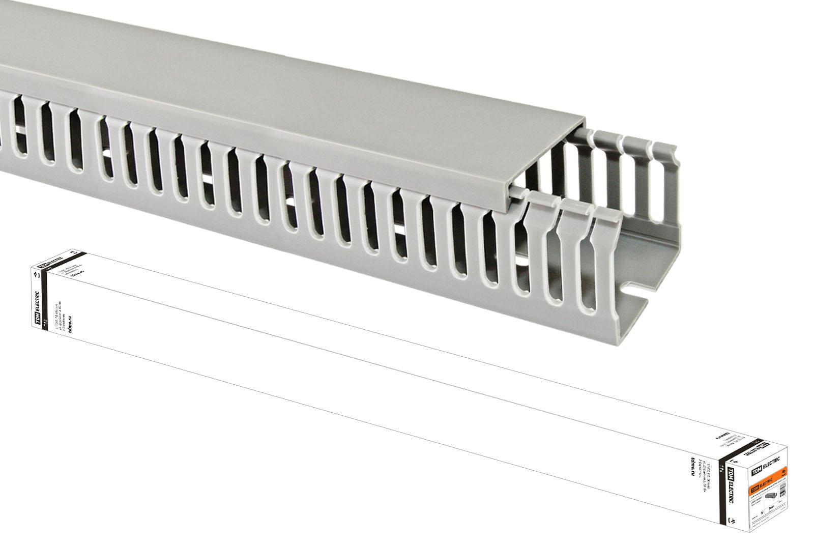 Кабель-канал перфорированный 80х80 TDM (16 м) SQ0410-0007 TDM Electric